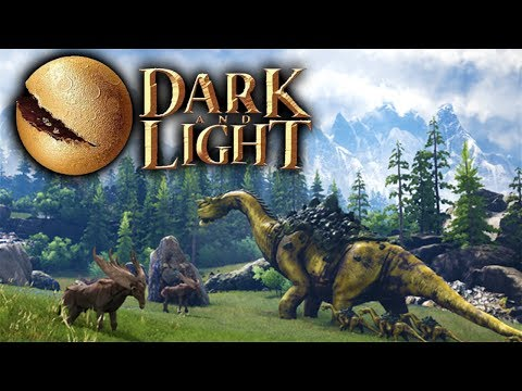 Dark and Light  Character Creation, Crafting, and Magic! Dark and Light Gameplay Part 1