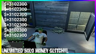 GTA 5 Online Unlimited SOLO Money Glitch   ***Patched*** [PS4, X1, PC]