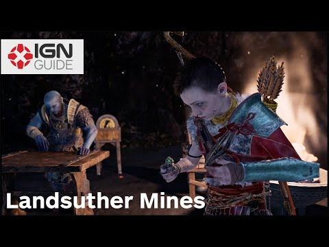God Of War - Landsuther Mines/Deus Ex Malachite Walkthrough