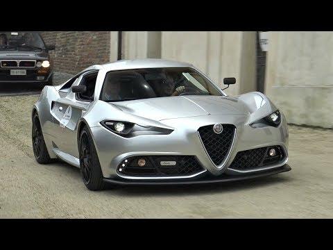 Alfa Romeo Mole Costruzione Artigianale 001 - Start Up, Exhaust, Driving & Overview!