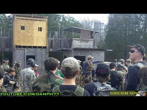 BAD KARMA AIRSOFT NOOB DAY 2011 Black Sun Unit Airsoft Battles Series 12 P2