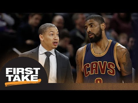 First Take reacts to Tyronn Lue having urged Cavaliers GM to keep Kyrie Irving | First Take | ESPN