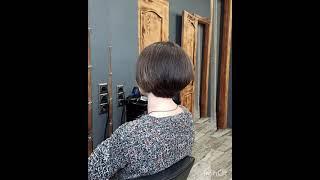 Короткая женская стрижка Short female haircut стрижка короткаястрижка haircut shorthaircut
