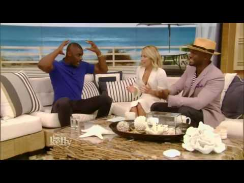 Live with Kelly   Guest  Idris Elba 'Star Trek' & co host  Taye Diggs   July 22,2016