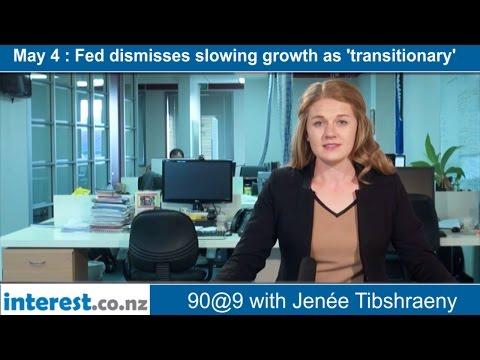 90 seconds @ 9am : Fed dismisses slowing growth as 'transitionary'