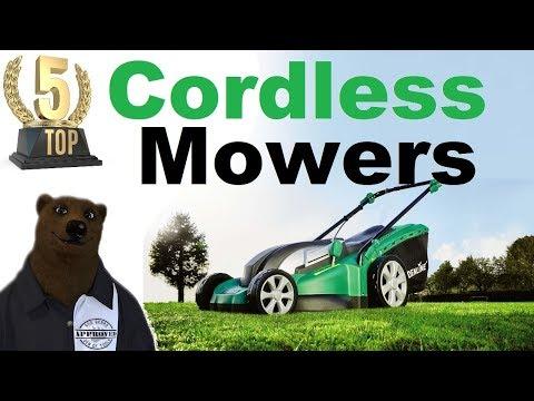 Top 5 Cordless Mowers