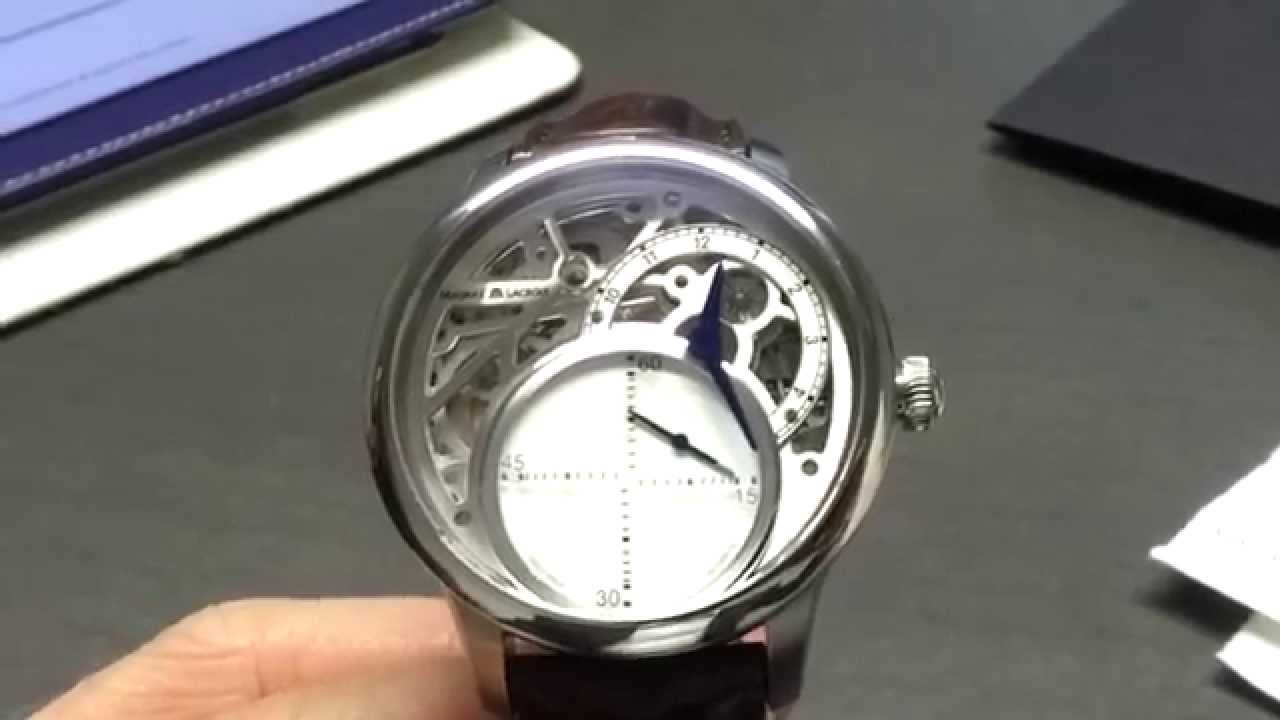 Maurice Lacroix second mysterious watch - YouTube eaf3b4a357