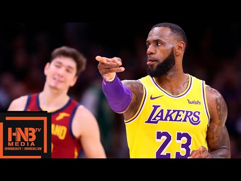 Los Angeles Lakers vs Cleveland Cavaliers Full Game Highlights | 11.21.2018, NBA Season