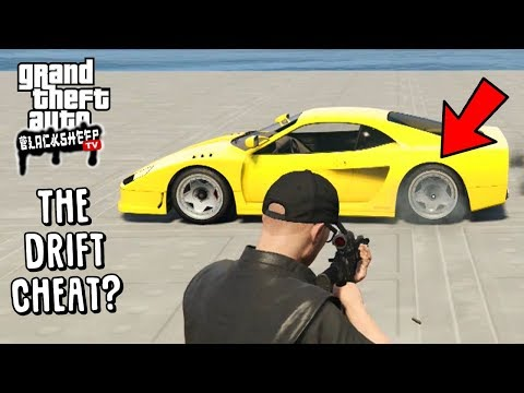 """How To """"Stance"""" A Vehicle on GTA 5 Online - """"The Drift Cheat"""" -  Lower Cars With No Suspension"""