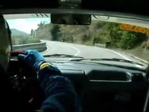 Iantorno Osvaldo - Cameracar 48° Svolte di Popoli 2010TIVM SUD Peugeot 205 rallye E3N1400.wmv