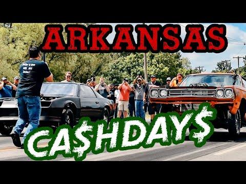 ARKANSAS CASH DAYS STREET RACE