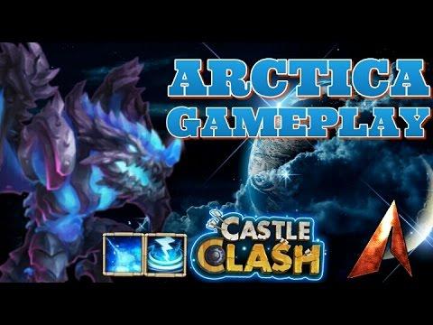 Castle Clash Arctica Gameplay!