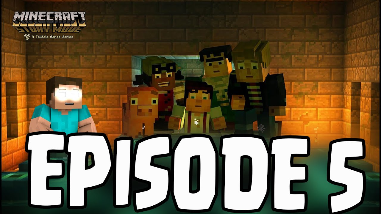 Minecraft Story Mode Herobrine Sighting Episode 5 Order Up