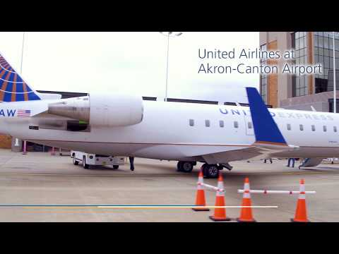 United Airlines at CAK