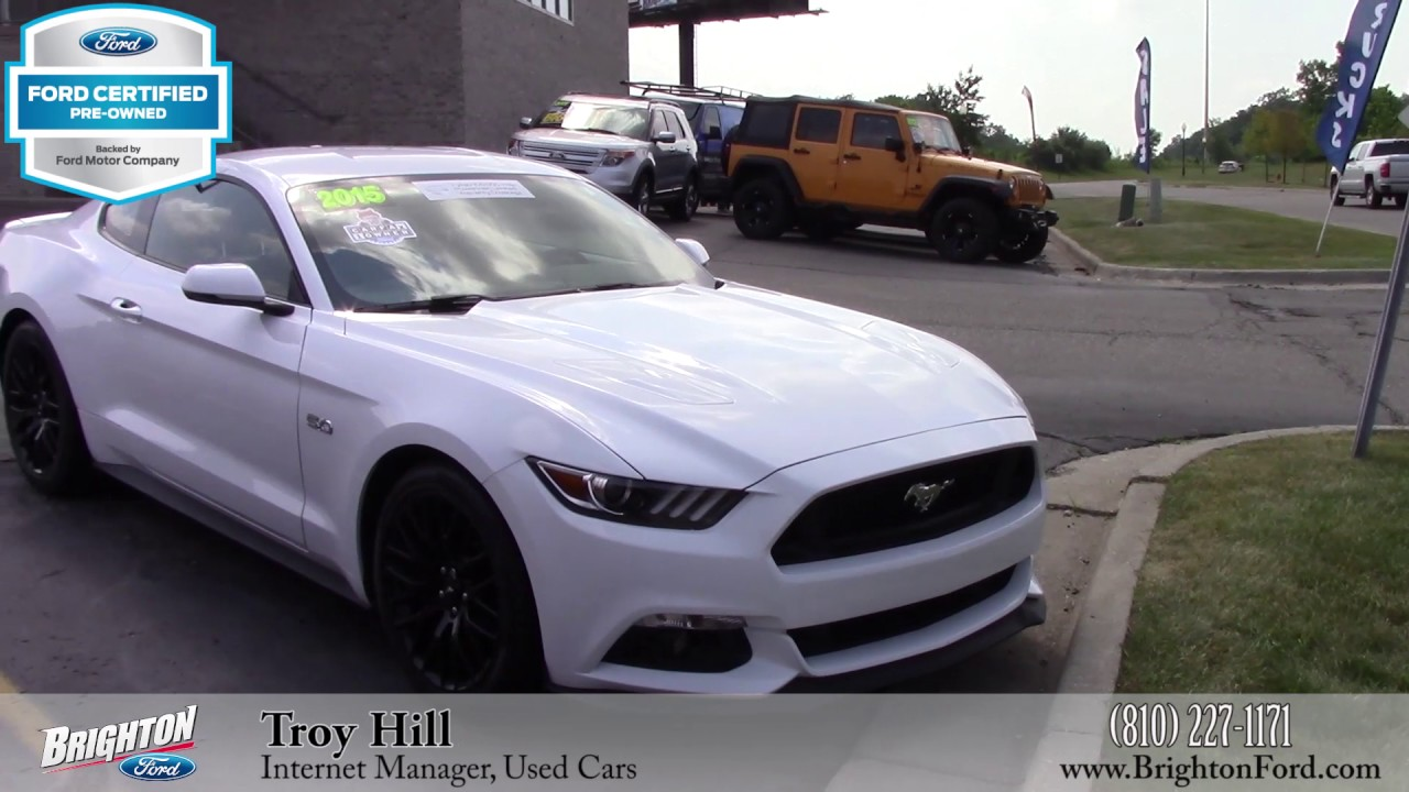 2015 ford mustang gt premium with performance package for sale