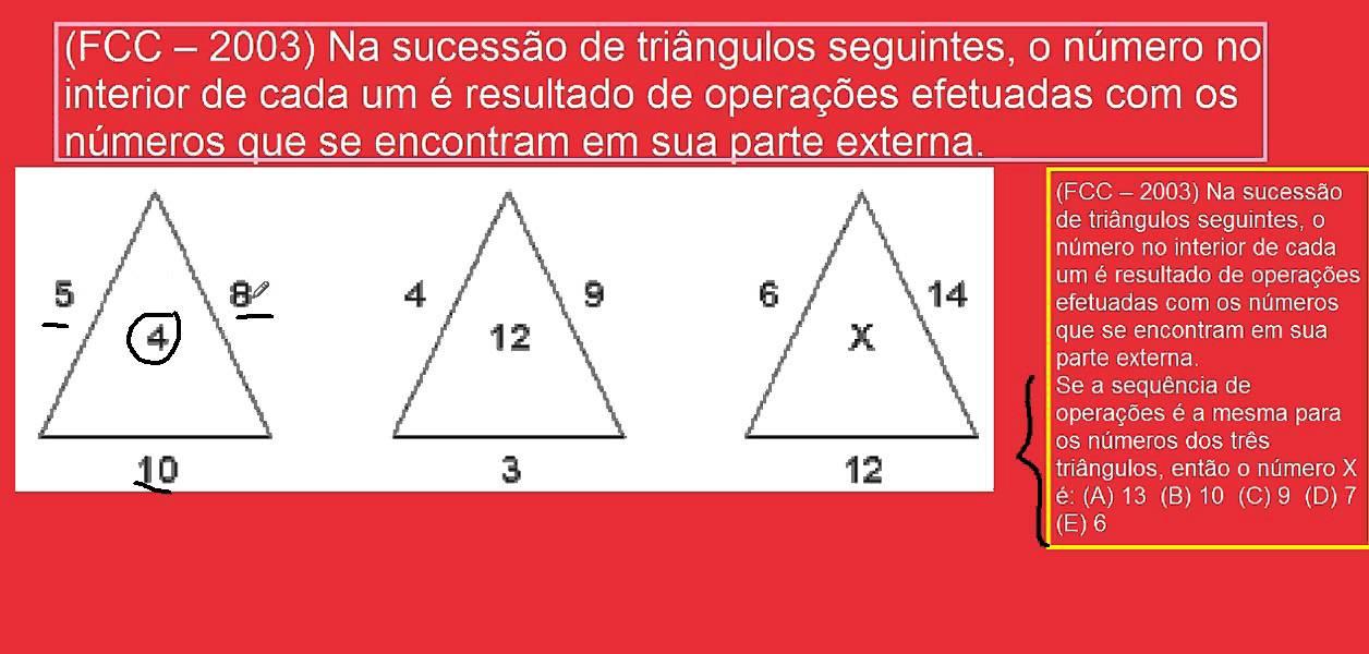 Desafios De Matematica E Raciocinio Logico Questao Classica Triangulos Teste De Qi Psicotecnico Cu Youtube