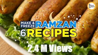 6 Make & Freeze Ramzan Recipes By Food Fusion
