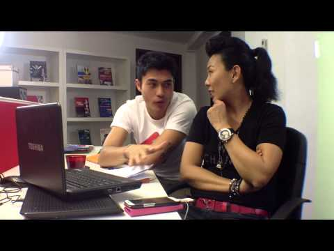 Driving Change with Caltex 1g - Henry Golding with Irene Ang in Singapore