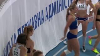 """""""Різдвяні старти-2017"""", 60 м, женщины финал. 9/01/2017, Киев"""