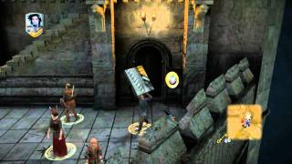 PC Game Narnia Prince Caspian - Defeat The Centries In The Turrets Part 1