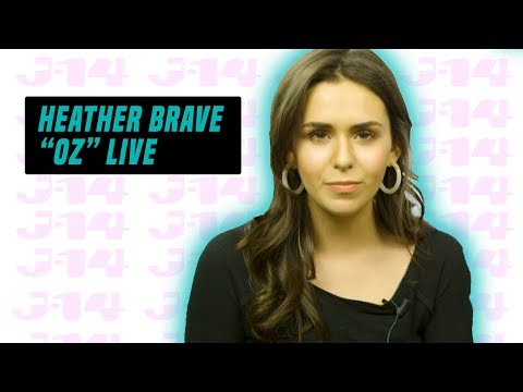 """Heather Brave Performs New Song """"OZ"""" Live"""