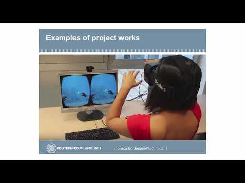 BORDEGONI Virtual and physical prototyping (Presentazione corso opzionale magistrali Design)