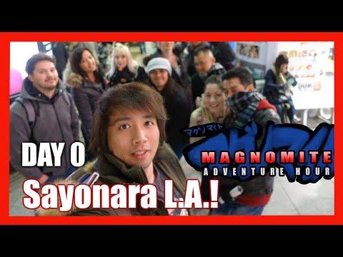 Japan Day 0 Sayonara L.A.! Hello Tokyo!
