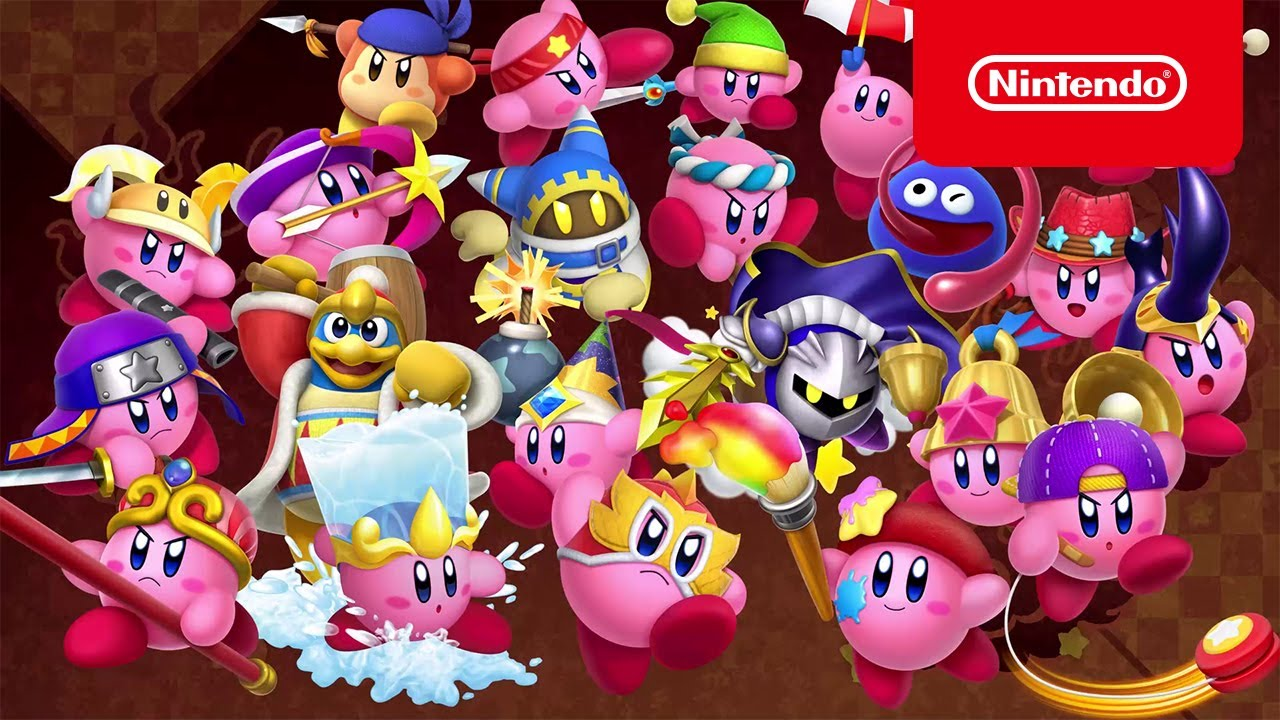 Sword, Staff, Wrestler and…Waddle Dee?! – Kirby Fighters 2 (Nintendo Switch)