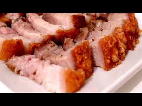 Crispy Roast Pork Thit Heo Quay Chinese Crispy Roast Pork Youtube