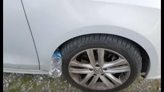 La Policía Advierte: Si Encuentras Una Botella De Plástico Cerca De Tu Auto, Puedes Correr Peligro