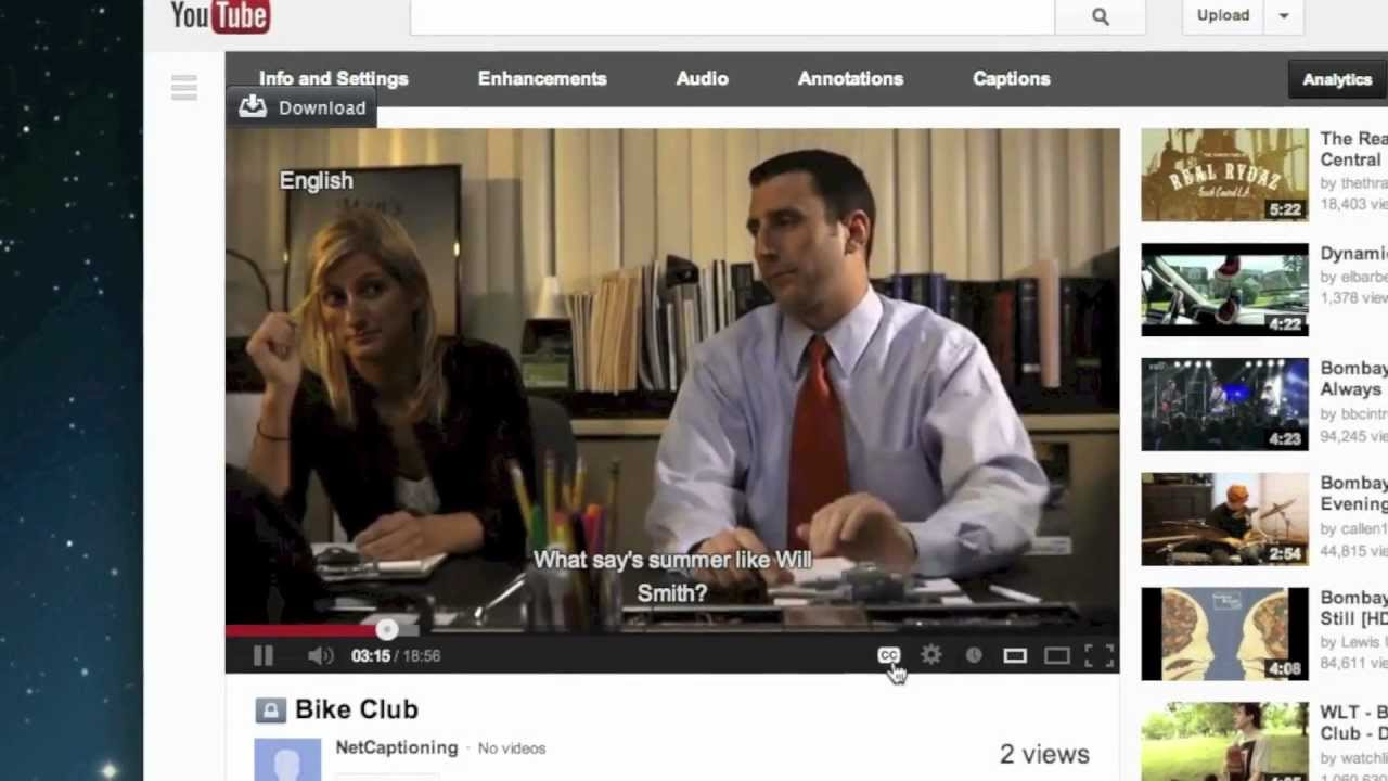 """an introduction to closed captioning Closed captioning information 1) """"i don't see closed captions on the video i'm watching"""" for online closed captioning feedback, please contact."""