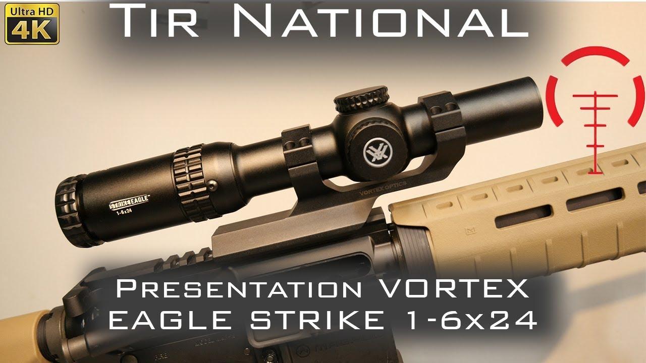 Lunette Ar15 Vortex Strike Eagle 1 6x24 Youtube