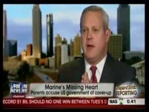 Philip Holloway speaks on Fox News with Shepard Smith about deceased Marine Missing his heart