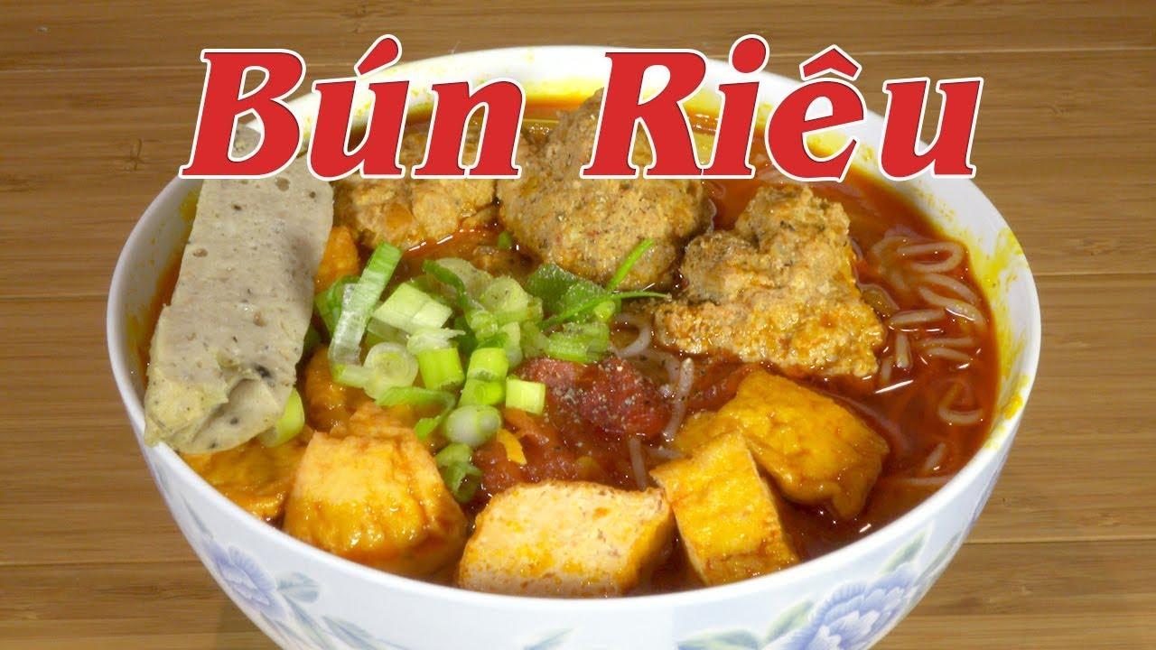 Bún riêu – Cách nấu bún riêu đơn giản nhất –  nhanh gọn, thơm ngon – By Nguyễn Hải