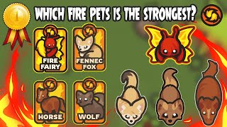 Taming.io Which Fire Pęts is The Strongest? - GAMEPLAY