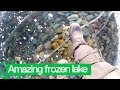 Man Films Amazing Walk Across World's Deepest Frozen Lake