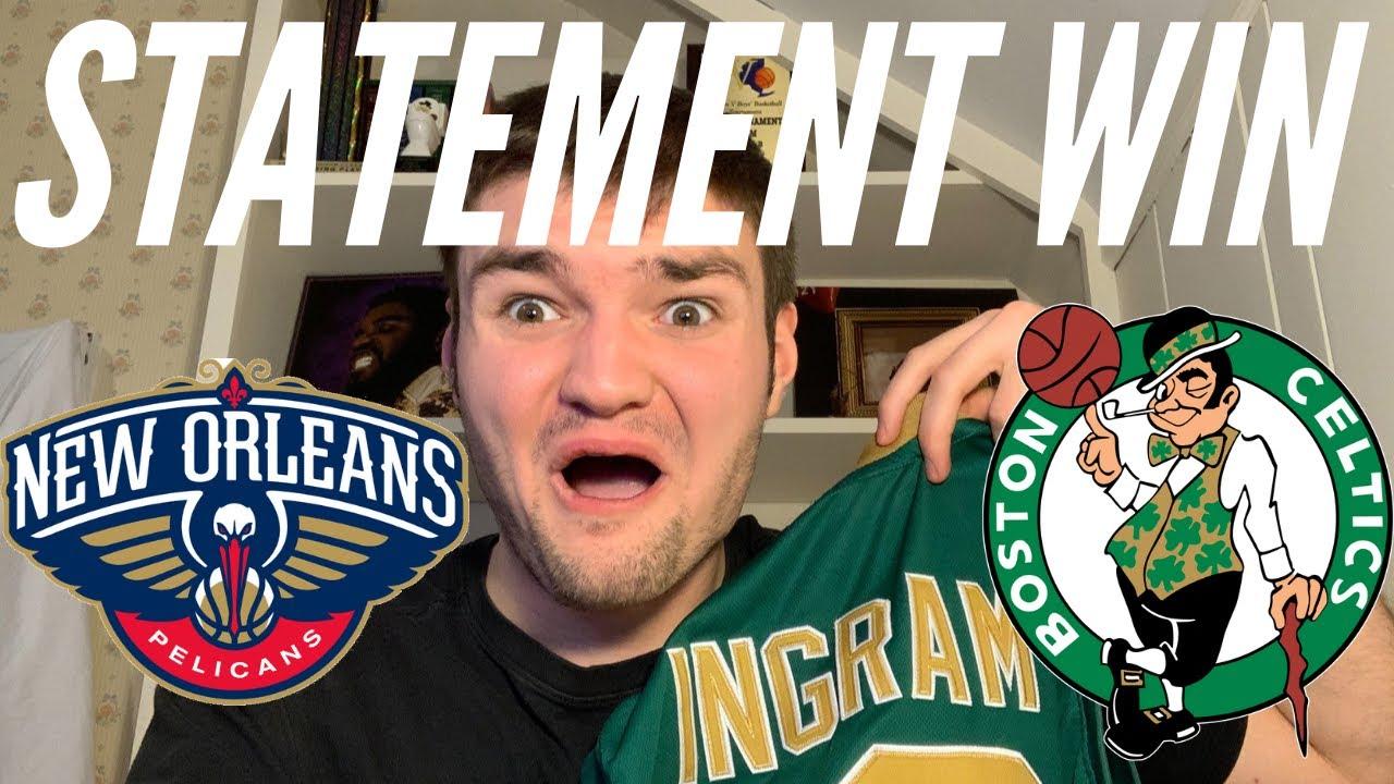 Pelicans vs Celtics FULL GAME HIGHLIGHTS reaction - YouTube