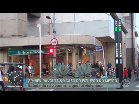 Suposta vítima de estupro no Metrô de São Paulo muda depoimento | Primeiro Impacto (29/08/18)