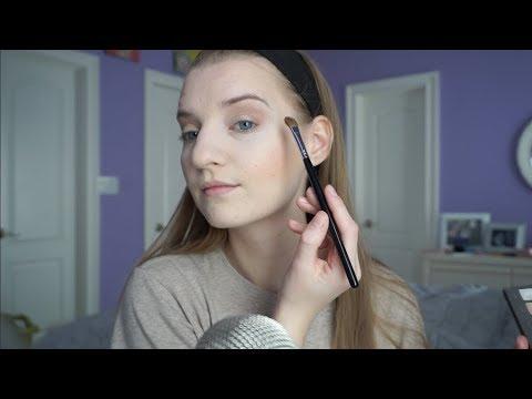 ASMR No Talking Makeup Application / GRWM