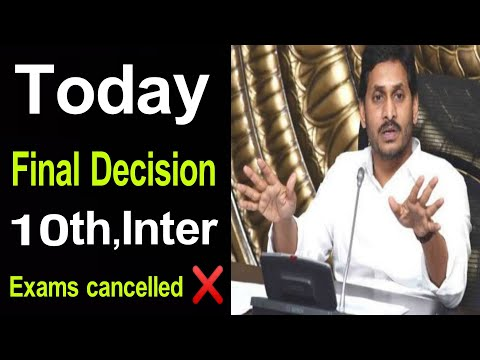 Today AP 10th Class,Inter Exams Cancelled ❌ Government Today News Latest| AP Tenth Class Exams 2021