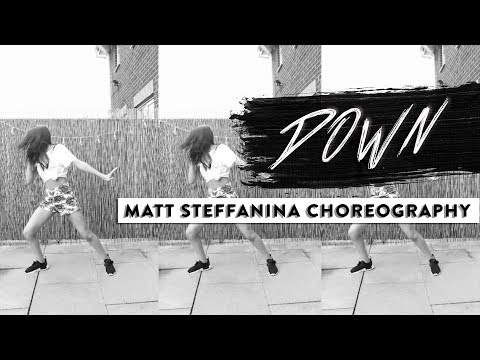 DOWN - Fifth Harmony Ft Gucci Mane Dance // @MattSteffanina CHOREOGRAPHY COVER