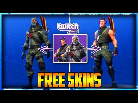 How To Get The TWITCH PRIME SKINS FOR FREE Fortnite Battle Royale - How To GET TWITCH SKINS & REDEEM