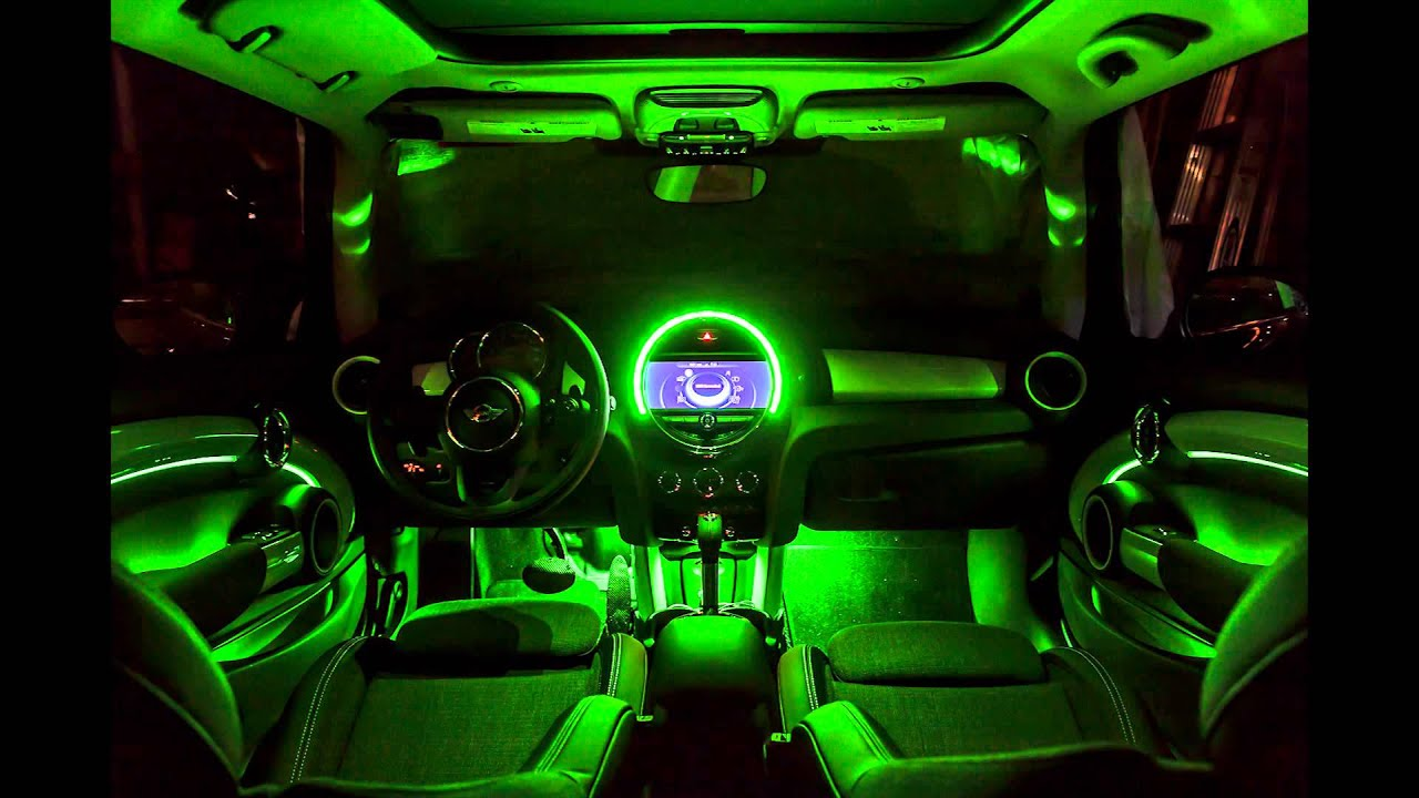 Mini F56 Interior Ambient Lighting Youtube