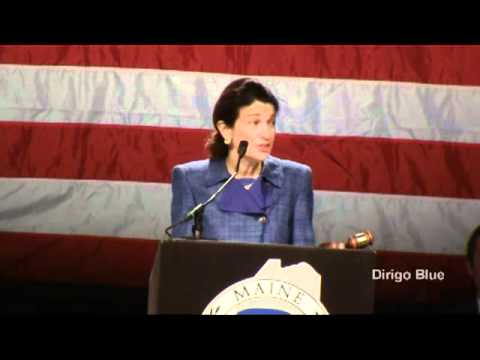Sen. Olympia Snowe addresses the Maine GOP Convention