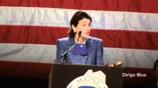Sen. Olympia Snowe addresses the Maine GOP Convention