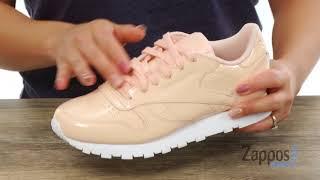 Ciro Olla de crack seno  Reebok Lifestyle Classic Leather Patent SKU: 8978037 - YouTube