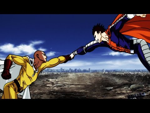 Saitama vs Blast  - The Mysterious #1 Hero