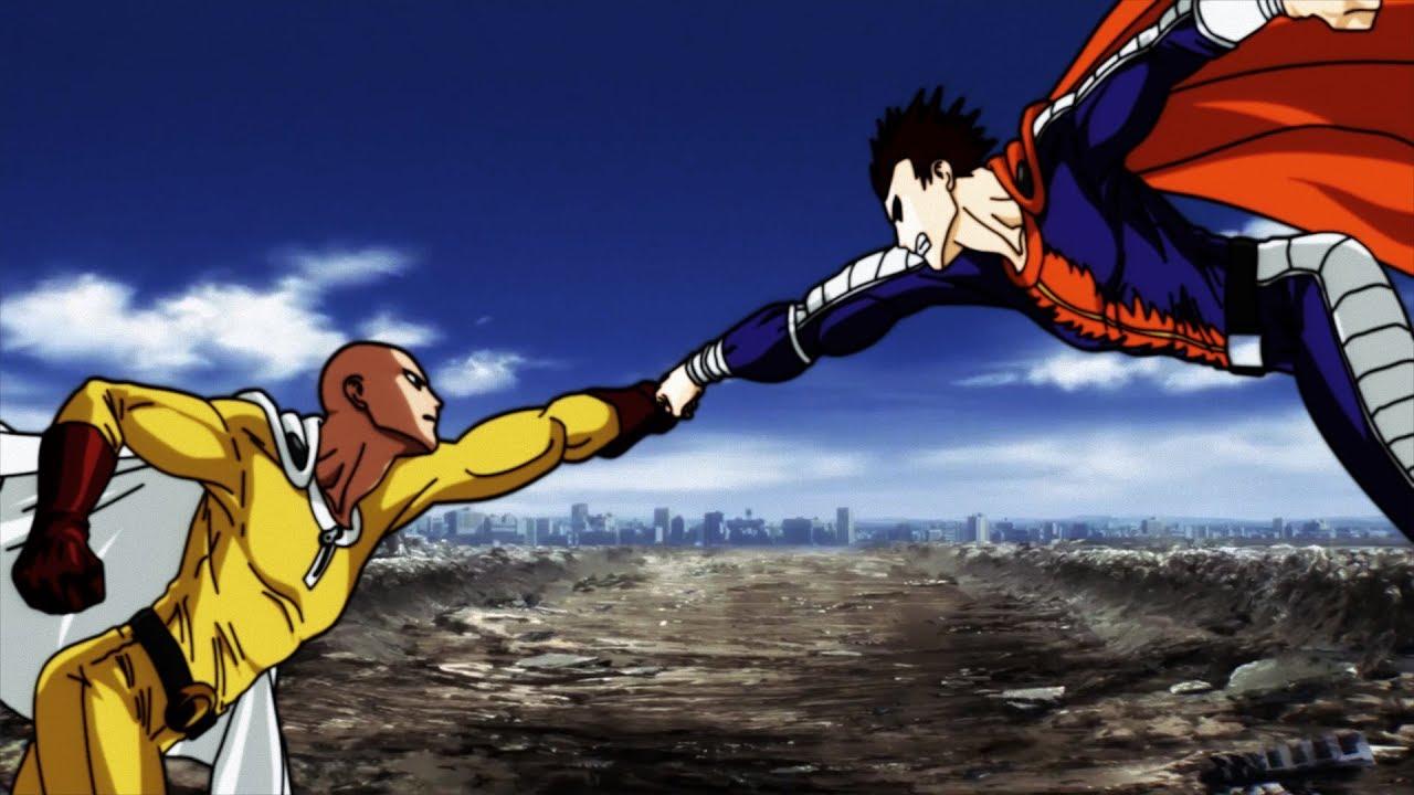 Saitama vs Blast - The Mysterious #1 Hero - YouTube