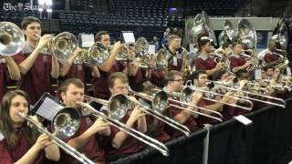 Gamecocks band, cheerleaders hyped for the Elite Eight