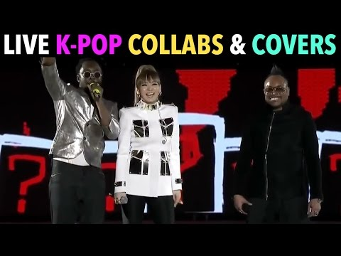 LIVE K-POP COLLABORATIONS & SHARED STAGES! (PART 1)